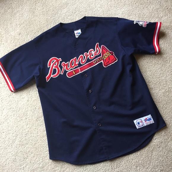 0f657fa0 Majestic Shirts | Vintage Atlanta Braves Jersey | Poshmark